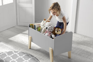 Sherbert Toybox in Grey
