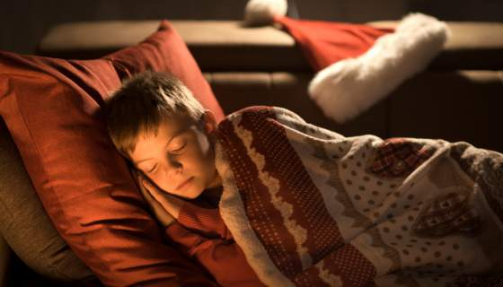 How to Settle your Children to Sleep on Christmas Eve