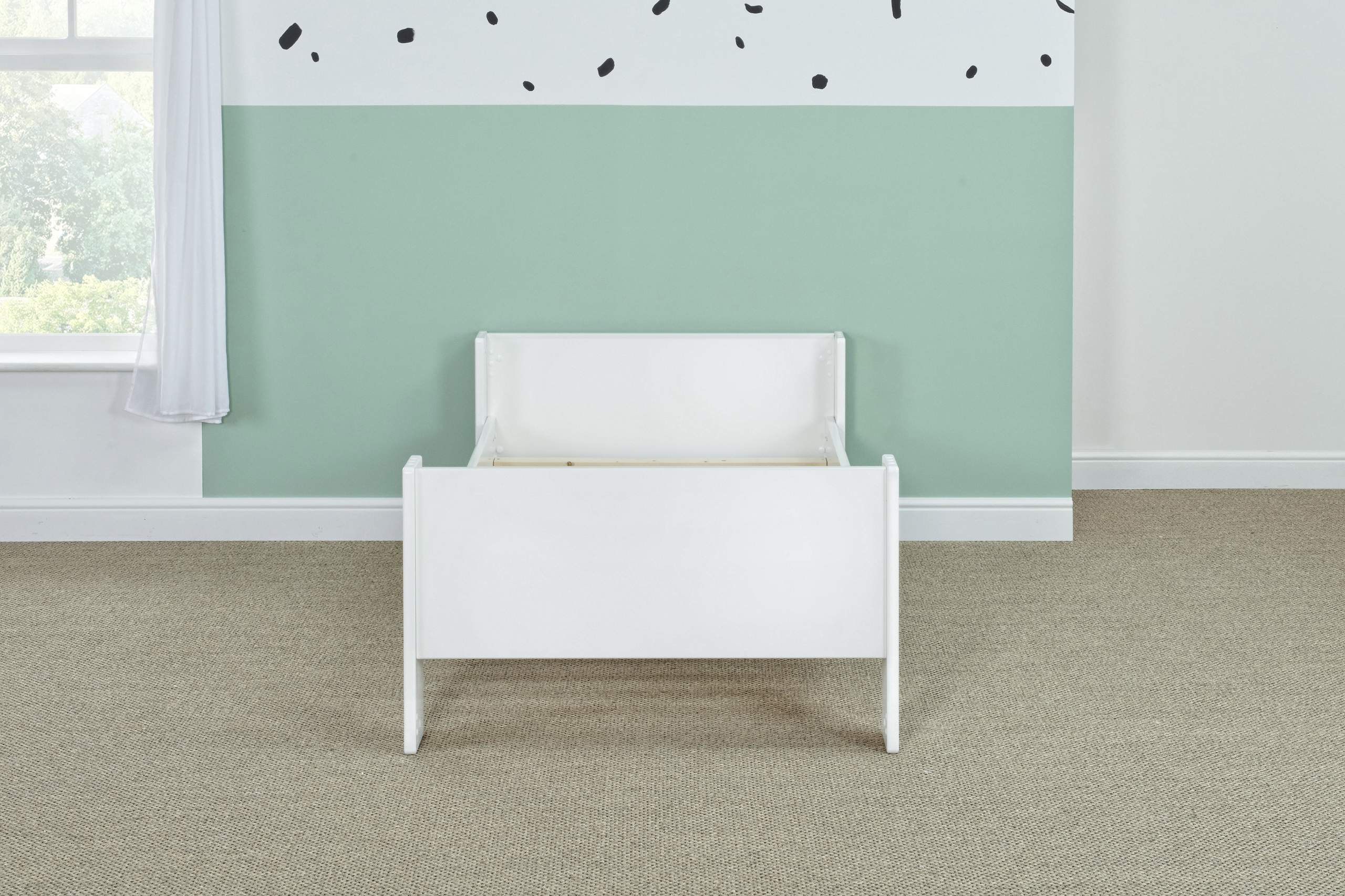 Bloc single bed - naked straight