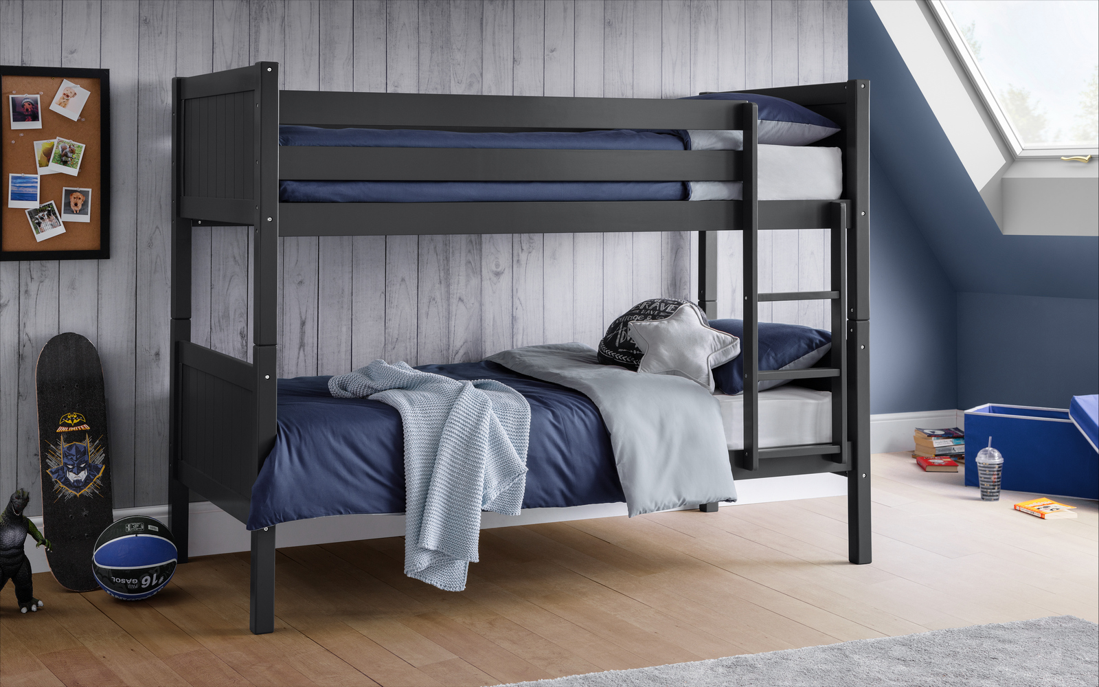 Portland Anthracite Bunk Bed