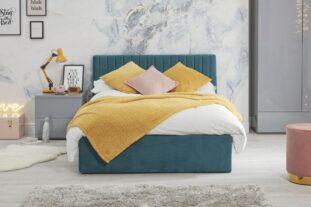 Luca Bed - teal
